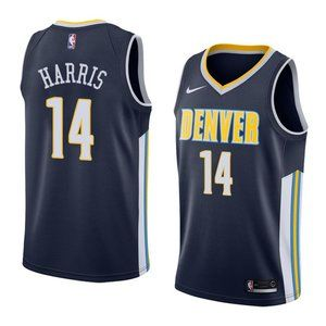 Denver Nuggets Gary Harris Navy Jersey 1